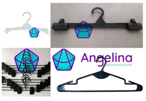alquiler de percheros y accesorios para showrooms y eventos