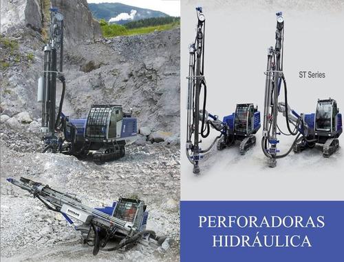 alquiler de perforadoras hidráulicas marca soosan