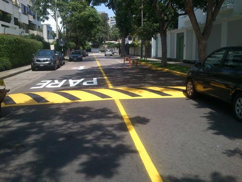 alquiler de pintarrayas y servicio de señalizacion vial