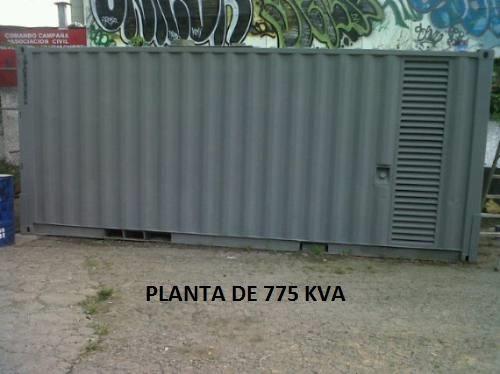 alquiler de plantas electricas desde 35 kva a a 1250 kva