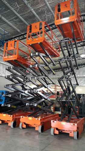 alquiler de plataforma de elevación y brazos articulado, jlg