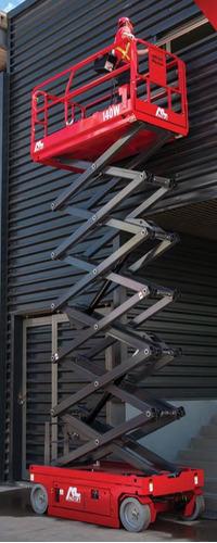 alquiler de plataforma elevadora o tijera eleva personas