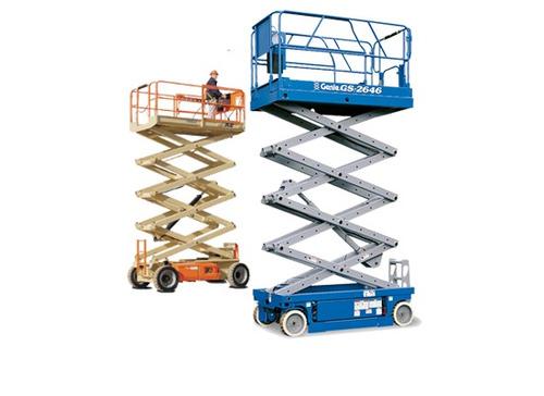 alquiler de plataforma tijera 21987421 - 1134092827