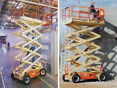 alquiler de plataformas elevadores tipo tijera 152-648-5397