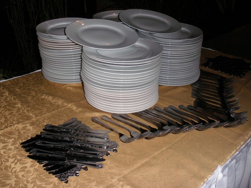 alquiler de platos, vasos copas, palmeras ,     emergencias