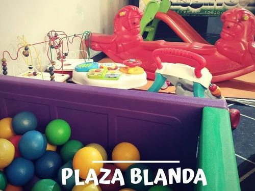 alquiler de plaza blanda x 24 hs