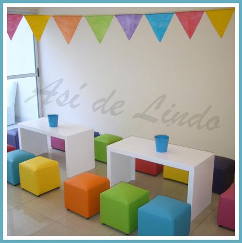 alquiler de plazas blandas inflable mini living tejo metegol