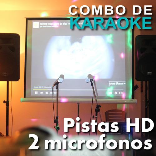 alquiler de proyector hdmi pantalla gigante karaoke sonido