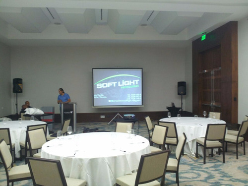 alquiler de proyectores un dia antes de tu evento sin cargos