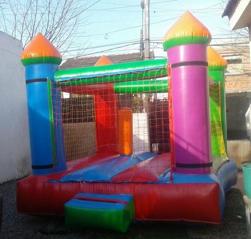 alquiler de puff, castillos inflable, cama saltarina/gazebo