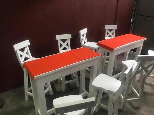 alquiler de puff mesas sillas para eventos