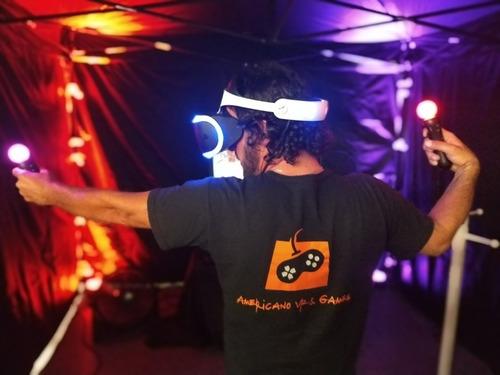 alquiler de realidad virtual y consolas para eventos!!