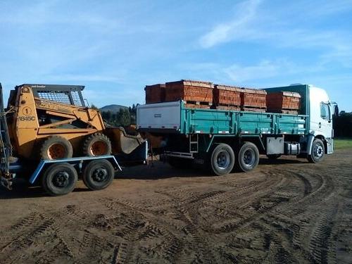 alquiler de retroexcavadora,minicargador y transportes