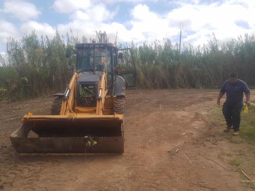alquiler de retroexcavadoras limpieza de terrenos hormigones