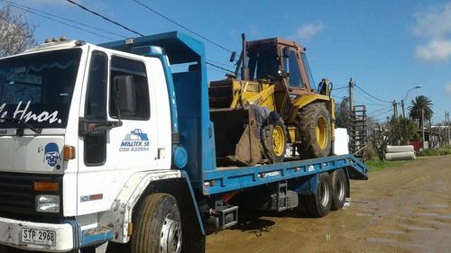 alquiler de retroexcavadoras y camion