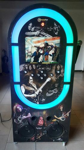 alquiler de rockolas para fiestas o eventos - karaoke