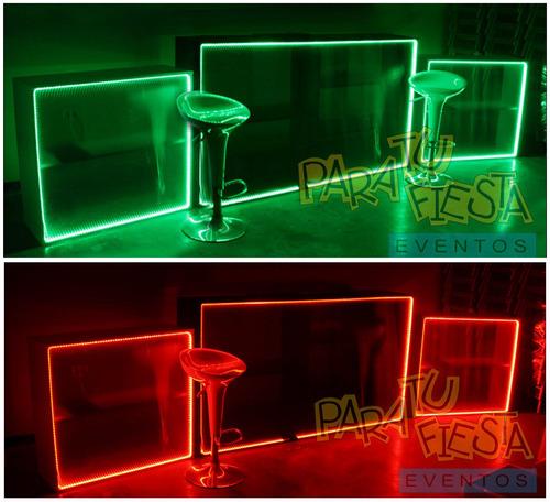 alquiler de salas lounge, barras iluminadas, dj sonido y más