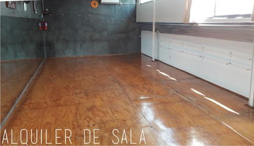 alquiler de salas para danza, teatro, en estación chacarita