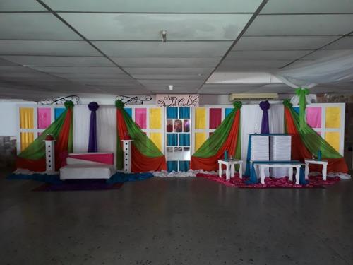 alquiler de salón de evento con financiamiento