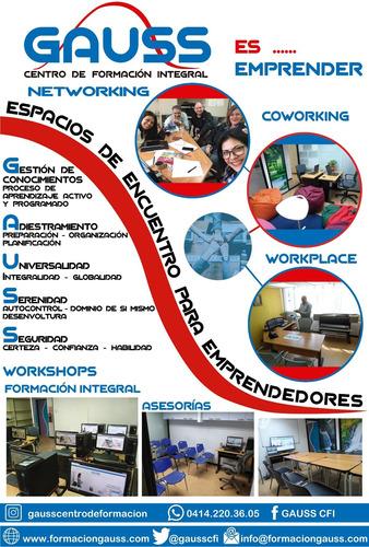 alquiler de salones para cursos, talleres y/o conferencias