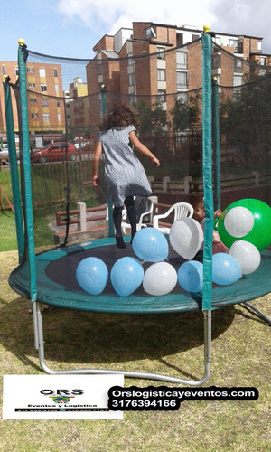 alquiler de saltarines camas elásticas trampolines bogota
