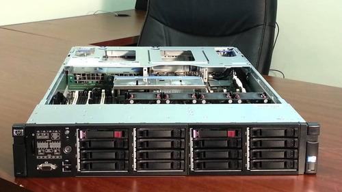 alquiler de servidores hp 380, 360 g6, g7, switche, san, nas
