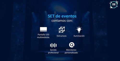 alquiler de set para transmisiones y eventos virtuales