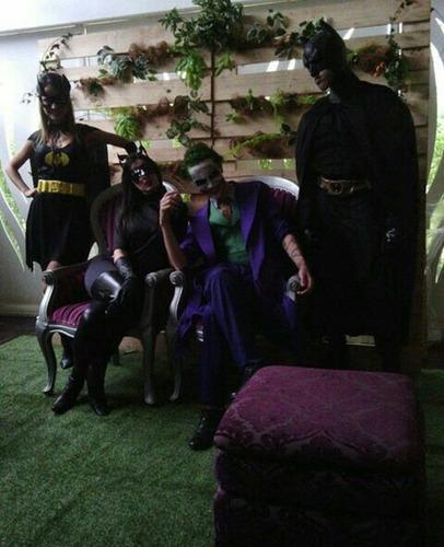 alquiler de show de superman , batman , los vengadores