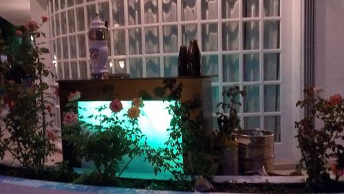 alquiler de sifones, mojito cubano, tinto de verano, agua.