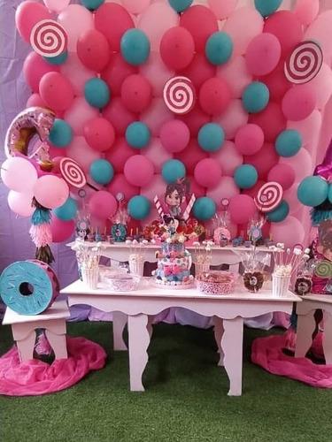 alquiler de sillas de festejo, pasapalos, tequeños, torta...