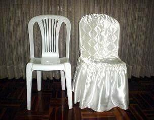 alquiler de sillas de plástico