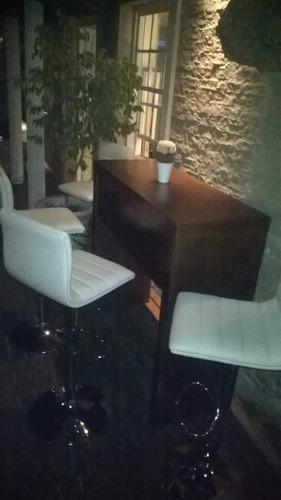 alquiler de sillas hotelera congreso banquetas y barras