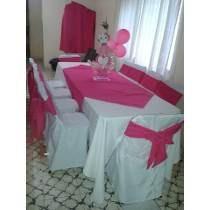 alquiler de sillas, mesas, manteleria y mas
