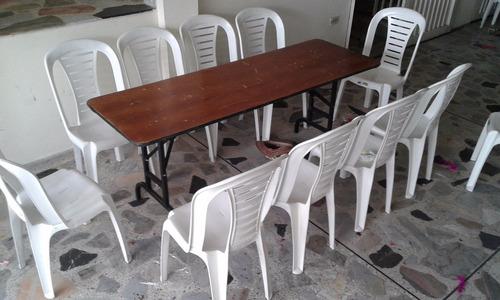 alquiler de sillas mesas manteles