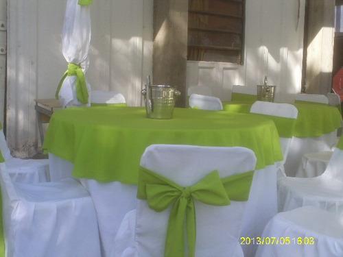 alquiler de sillas, mesas, mesones, toldos ,copas,platos etc