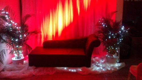alquiler de sillas, mesas, sonido, iluminación, tarima y más