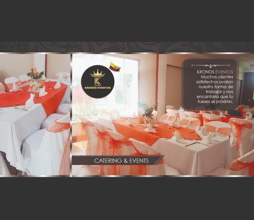 alquiler de sillas, mesas, vajilla, cristalería, catering