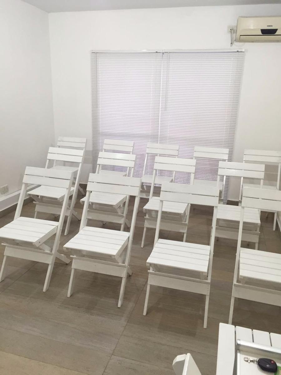 Alquiler de sillas plegables de madera mesas y dispensers for Compra de sillas plegables