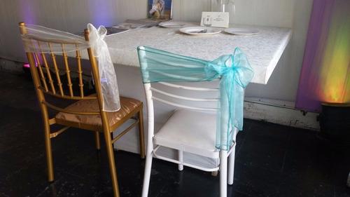alquiler de sillas tiffany de metal biombos y mesas trujillo