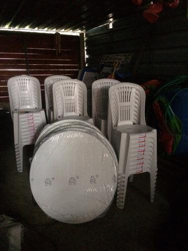 alquiler de sillas y mesas 12 pesos, manteles