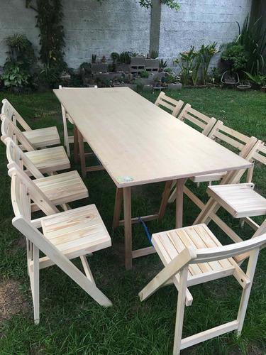 alquiler de sillas y mesas (promo 20 sillas +2 mesas $2500)