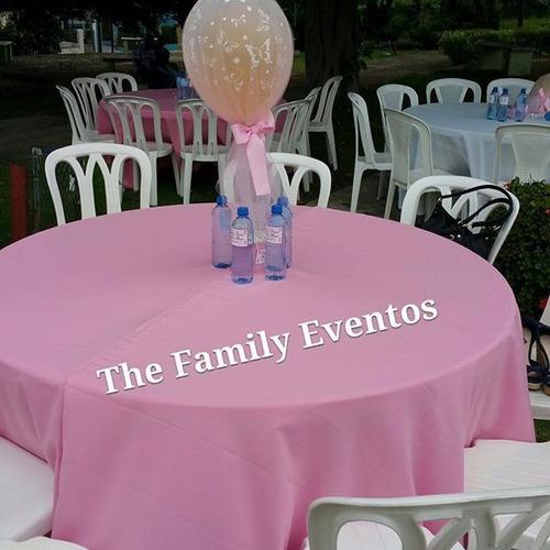 alquiler de sillas,mesas, mantelerias y todo para tus evento