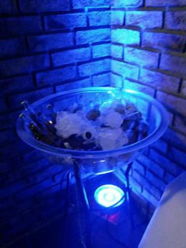 alquiler de sillones puff living gazebos barras puf de led