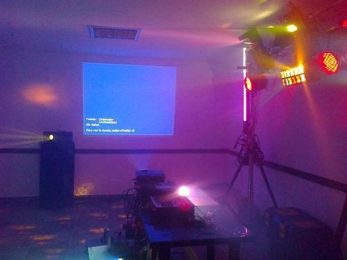 alquiler de sistemas audiovisuales para cualquier evento