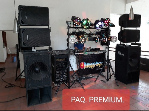 alquiler de sonido discplay e iluminacion profesional