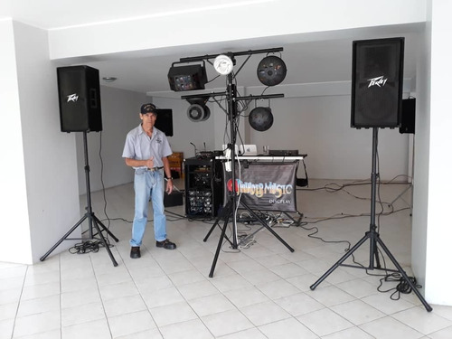 alquiler de sonido e iluminación profesional