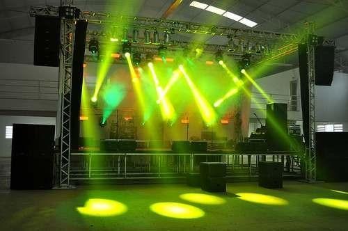 alquiler de sonido e iluminación profesional - discplay - dj