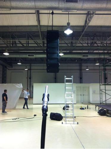 alquiler de sonido e iluminacion  ,sonido line aray rcf