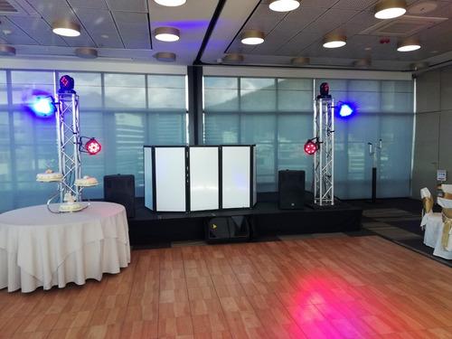 alquiler de sonido iluminacion karaoke carpas