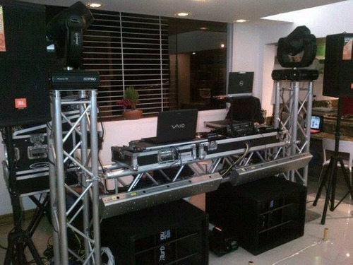 alquiler de sonido, karaoke, animacion, dj, luces, truss,